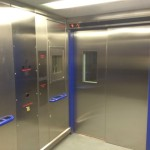 Inside Edgware Road Lift
