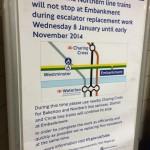 No Embankment Poster