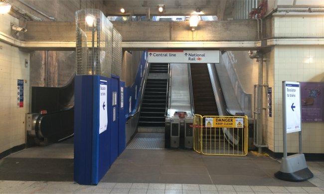 Greenford Escalator