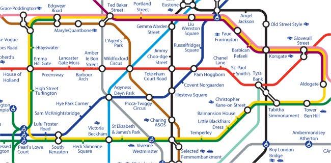 Alternative Tube Maps StationMasterApp Page - London tube map 2014