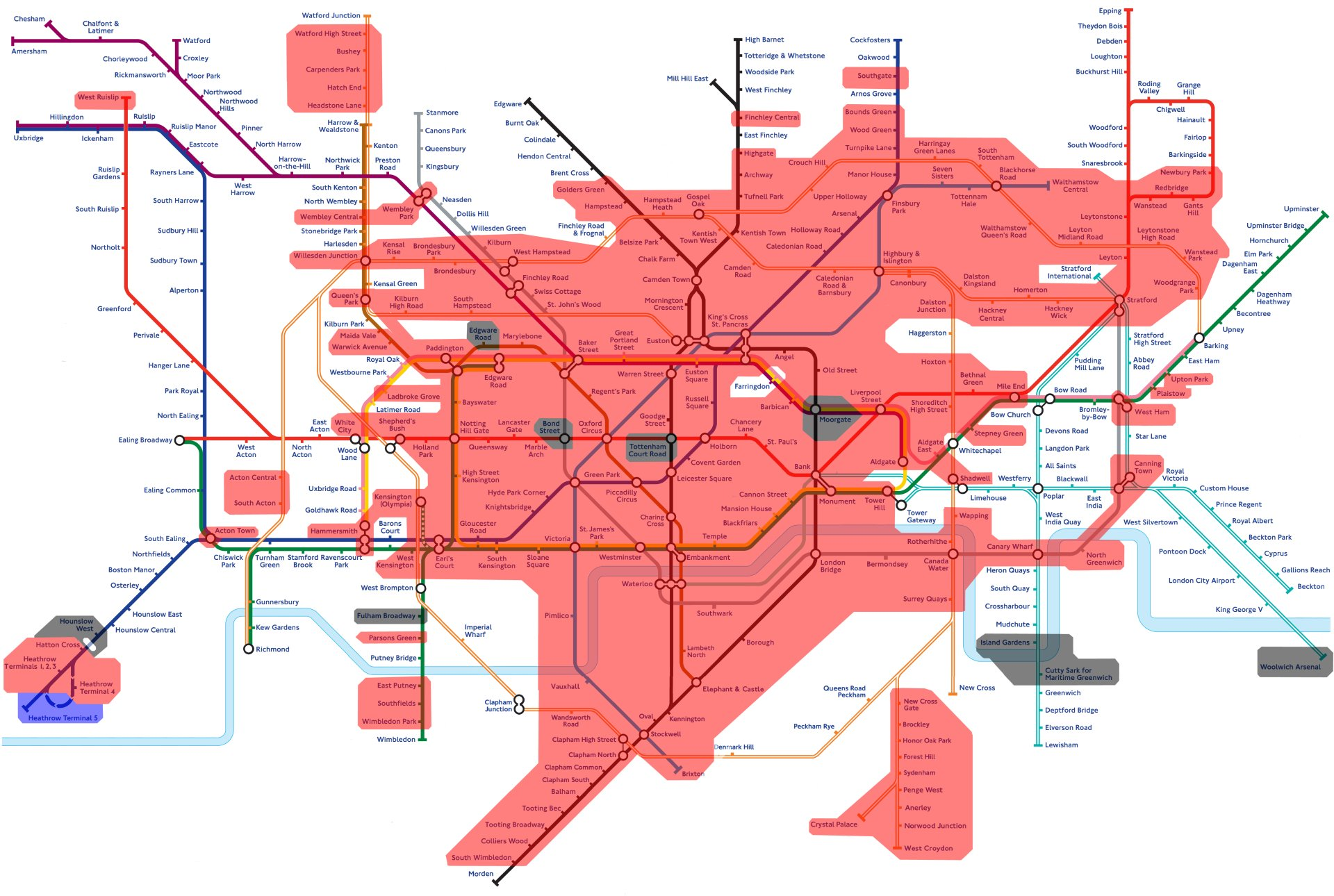 tube map 2014 pdf dlr