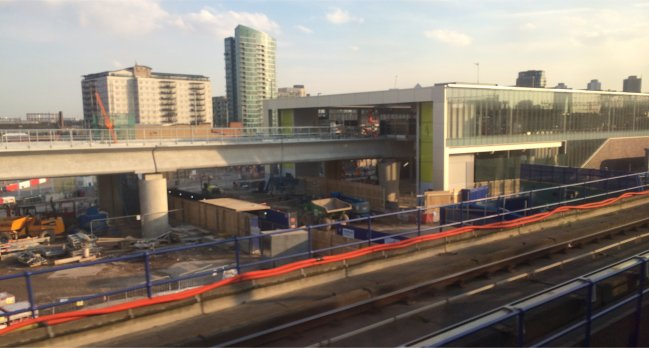 New Pudding Mill Lane Station