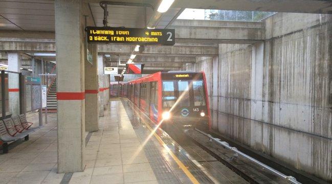 Stratford International Platform 2