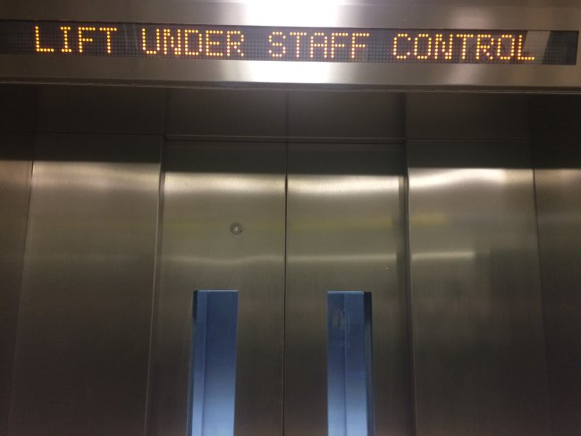 New Covent Garden Lift
