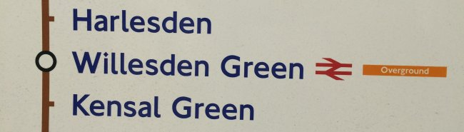 Willesden Green is now on the Bakerloo Line!