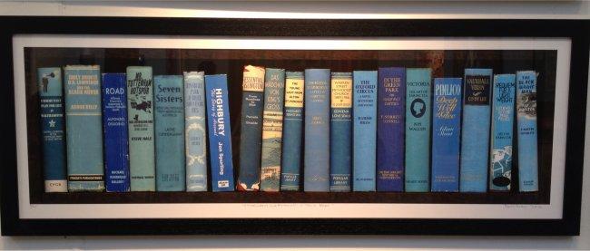 Victoria Line Bookshelf