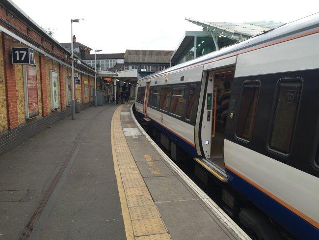 Overground from Platform 17