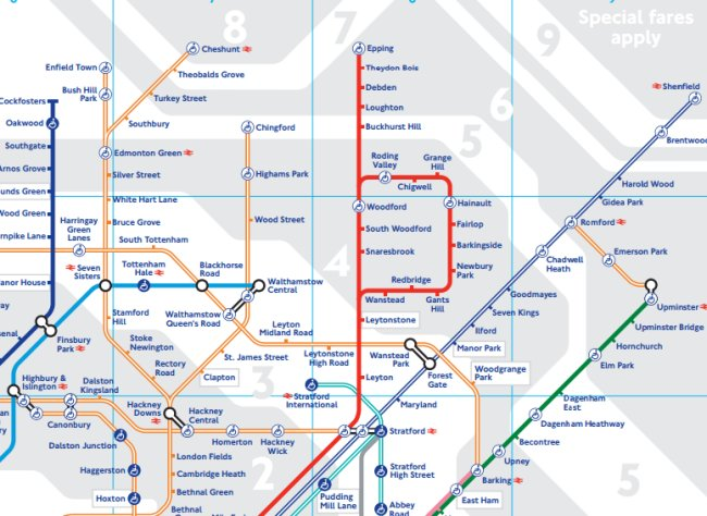 New May 2015 Tube Map