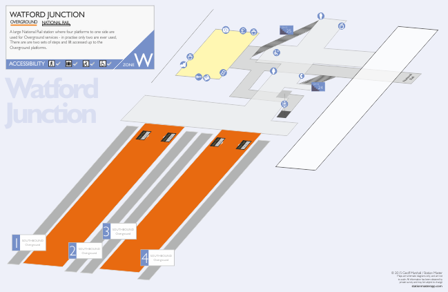 Watford Junction 3D Map