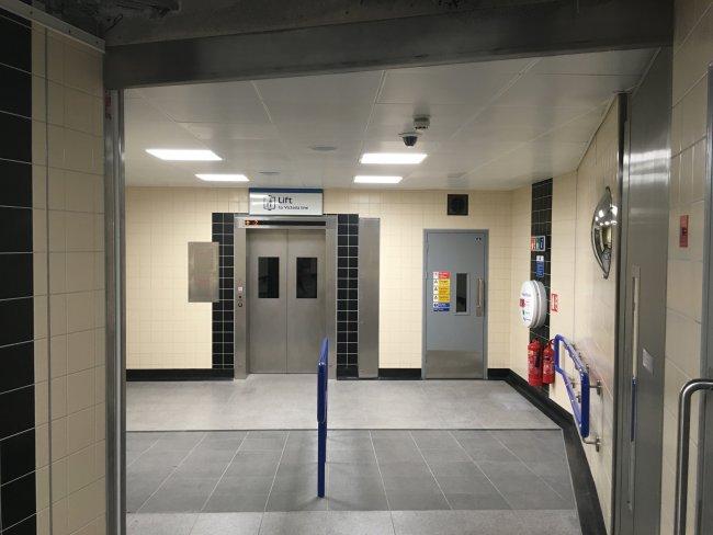 Vauxhall Lift